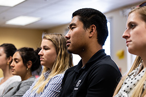 Students in George Fox University's PsyD program