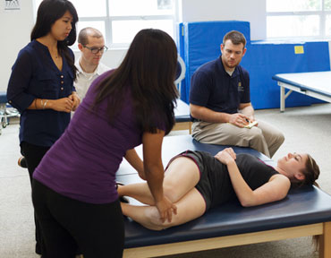 George Fox University Physical Therapy Classroom